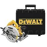 Dewalt DWE575K-QS Sierra Circular 1.600W y maletín, Negro y Amarillo