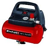 Einhell Compresor TC-AC 190/6/8 OF (1.100 W, máx. 8 bar, motor exento de...