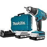 Makita HP457DWE - Taladro Percutor A Bateria 18V Litio-Ion 1.5 Ah