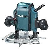 Makita RP0900 Fresadora De Superficie 900W 27000 Rpm Pinza, 900 W, Negro,...