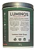 Luminos LUM1106 - KALE GREEN- Lasur Bio al Agua Protector Para Madera...
