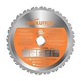 Evolution Power Tools - Hoja de sierra multiuso con punta de acero de...