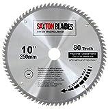 Saxton - Disco circular de TCT para sierra circular para madera de 250 x...
