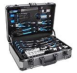 Karcher maletín de herramientas - 101 piezas incluye martillo, alicates,...