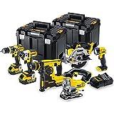 Dewalt Pack 6 herramientas Dewalt dck699m3t 18v xr (3 x 4.0ah) Li-ion +...
