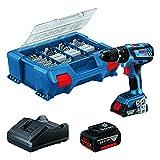 Bosch Professional 18 V System Taladro Percutor a Batería GSB 18 V-28, 1...