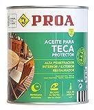 Aceite para Teca. PROA. Protección y nutrición para la madera. Renueva...