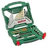 Bosch Maletín X-Line con 50 unidades para taladrar y atornillar (para...