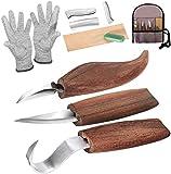 Cuchillo de Talla de Madera, cuchillo de trinchar hecho a mano, Cuchillo de...