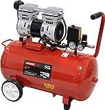 MADER POWER TOOLS - Compresor de Aire (sin aceite) 50L 1.0HP - silencioso -...