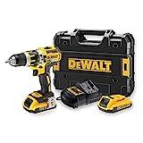 DeWalt DCD795D2-QW - Taladro Percutor a bateria sin escobillas XR 18V 13mm...