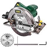 Sierra Circular, TECCPO Profesional 1200W 5800RPM Sierra Circular...