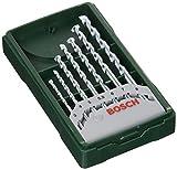 Bosch Professional 2607019581 Bosch Mini X-Line-Set de 7 Brocas para Piedra...