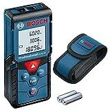 Bosch Professional Medidor láser de distancia GLM 40 (función de memoria,...