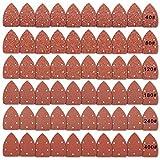 Papel de lija Asatrye 60pcs triángulo ratón detalle abrasivos discos de...