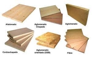 tipos de tableros de madera