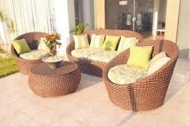 muebles mimbre jardín vigo