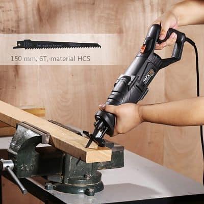 serrucho eléctrico para madera