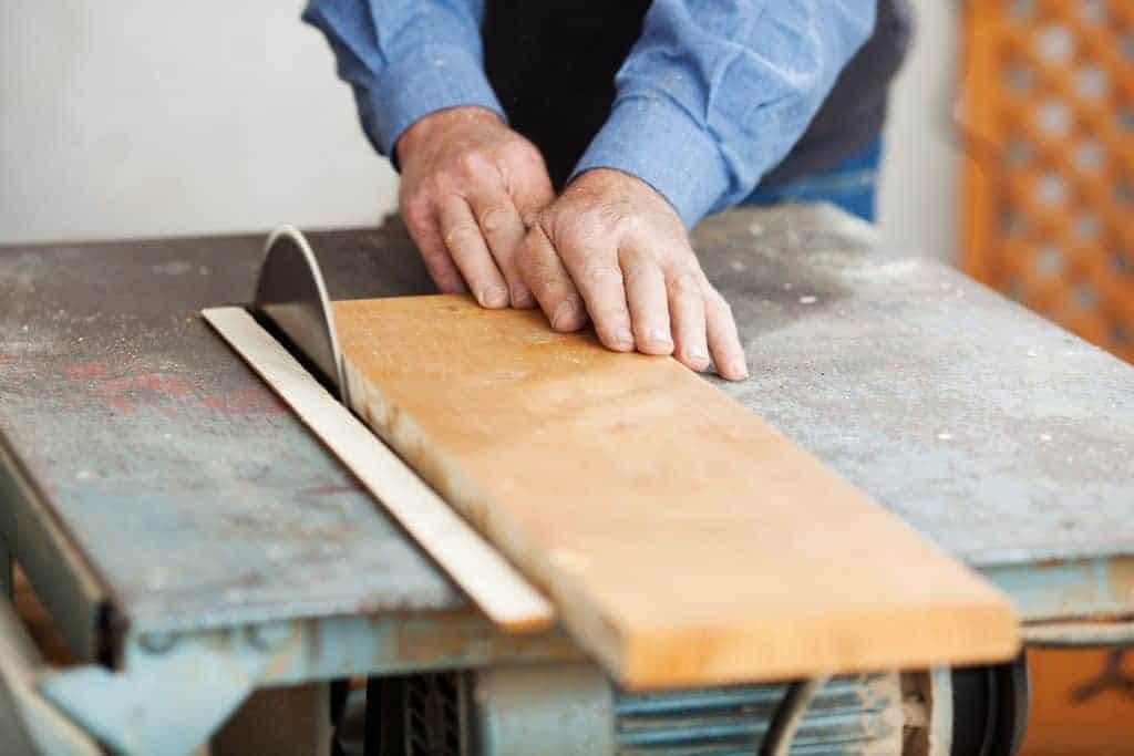 sierras de mesa para madera