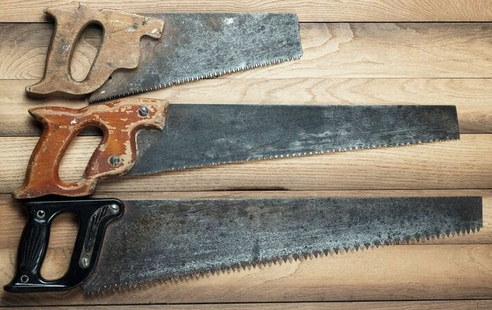 serruchos para madera