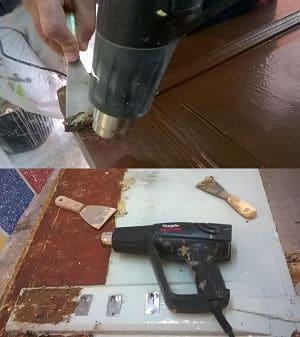 pistola decapante